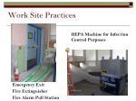 work site practices