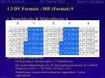 1 3 dv formate dif format 9