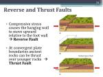 reverse and thrust faults