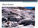 sheet joints