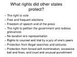 what rights did other states protect