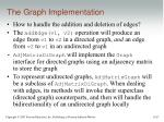 the graph implementation1