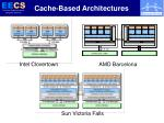 cache based architectures