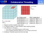 collaborative threading