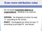even more attribution rules2