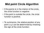 mid point circle algorithm1