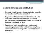 modified instructional duties2