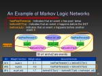 an example of markov logic networks