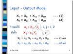 input output model2