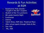 rewards fun activities at rsm