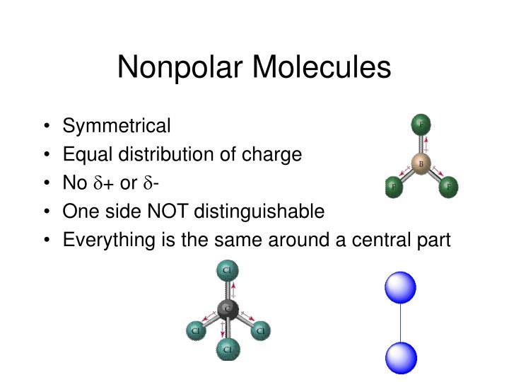 Nonpolar Molecules