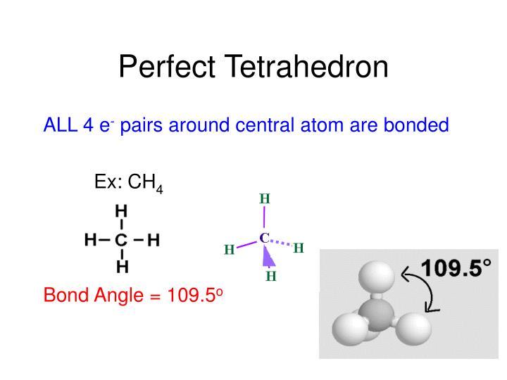 Perfect Tetrahedron