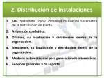 2 distribuci n de instalaciones