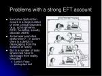 problems with a strong eft account