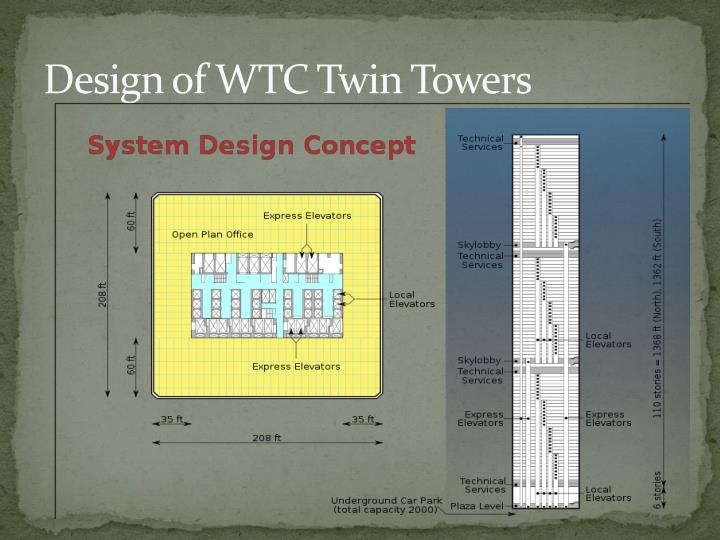 Design of WTC Twin Towers