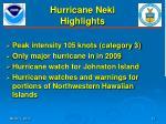 hurricane neki highlights