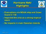 hurricane neki highlights1