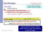 the fm index