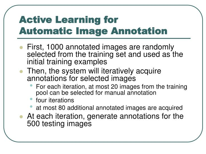 Active Learning for