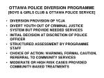 ottawa police diversion programme boys girls club ottawa police service