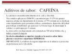 aditivos de sabor cafe na1