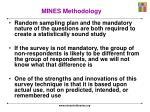 mines methodology2