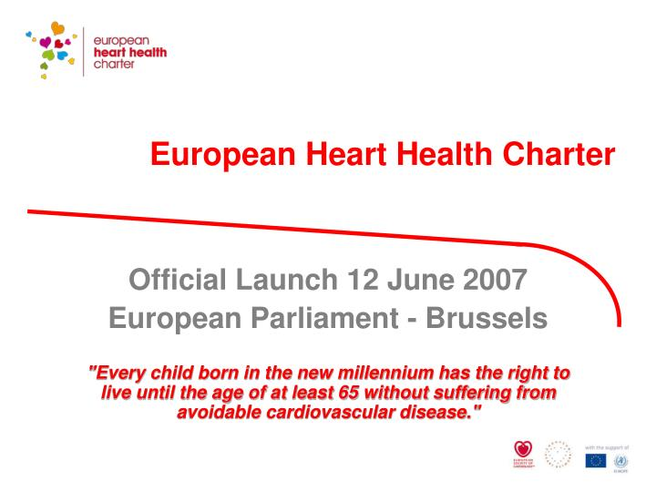 european heart health charter n.