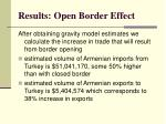 results open border effect