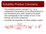 solubility product constants3