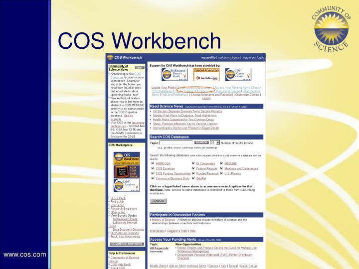 COS Workbench