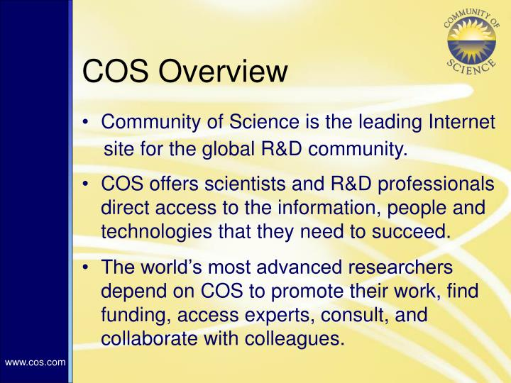 COS Overview