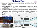 discharge tube