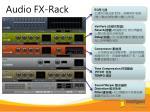 audio fx rack