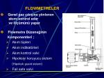 flowmetreler