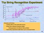the string recognition experiment4