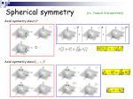 spherical symmetry