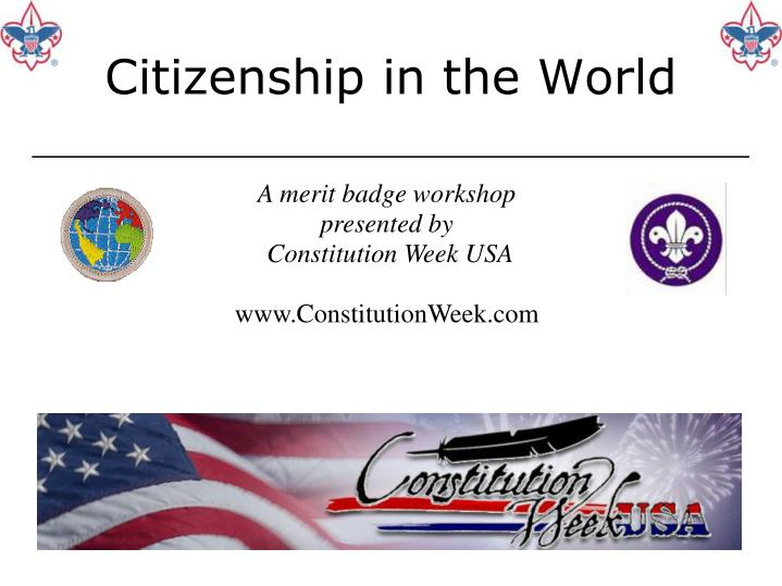 citizenship in the world n.