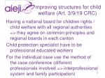 improving structures for child welfare art 3 9 19 crc