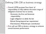defining csr csr as business strategy2