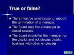 true or false2