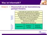was ist informatik1
