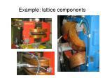 example lattice components
