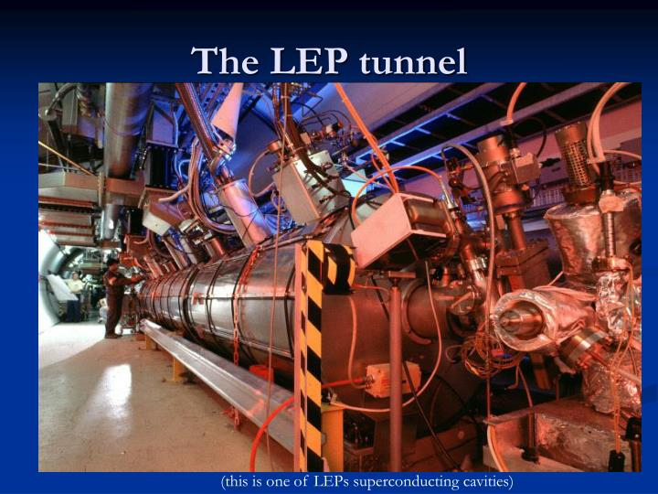 The LEP tunnel