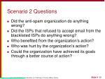 scenario 2 questions