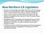 new northern ca legislators