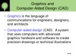 graphics and computer aided design cad