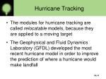 hurricane tracking