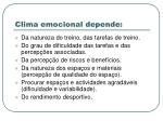 clima emocional depende