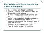 estrat gias de optimiza o do clima emocional