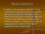 mission statement assembly of first nations